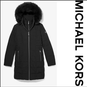 NWOT MICHAEL KORS Quilted Waterproof Puffer Coat